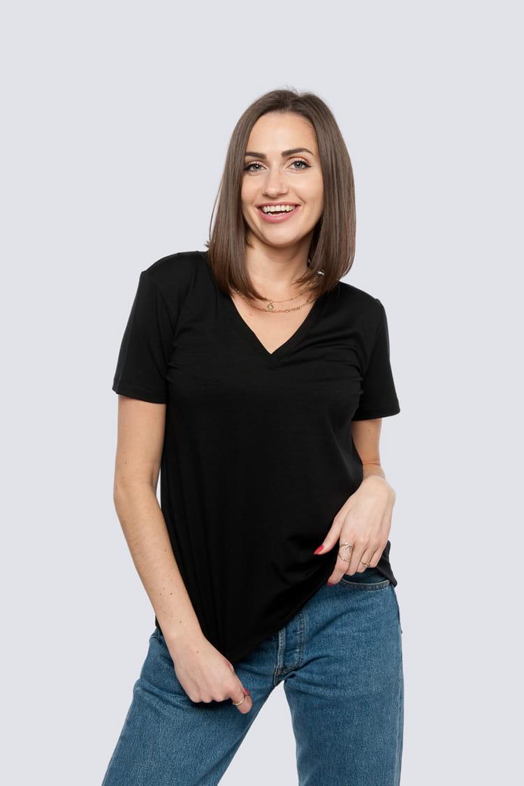 T-shirt Miss Classic Black
