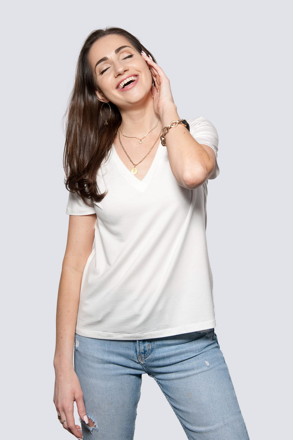T-shirt Miss Classic Off White
